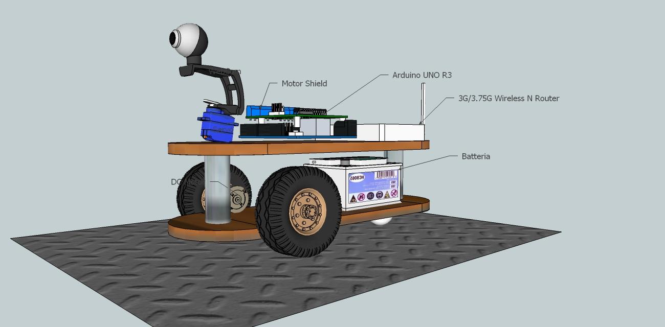 ARTURO arduino rover